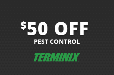 $50 off pest control in Boone coupon